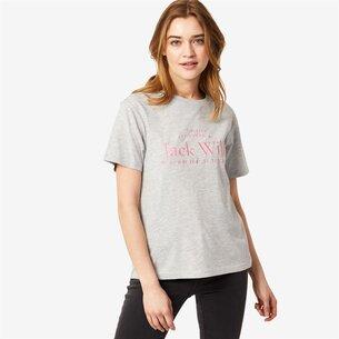 Jack Wills Forstal Boyfriend Logo T Shirt