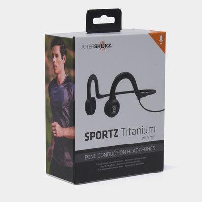 Aftershokz Sportz Titanium with Mic Conductor Headphones