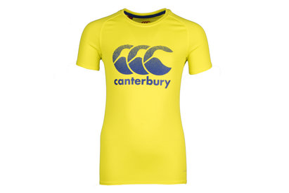 Canterbury Vapodri Kids Poly Large Logo Training T-Shirt