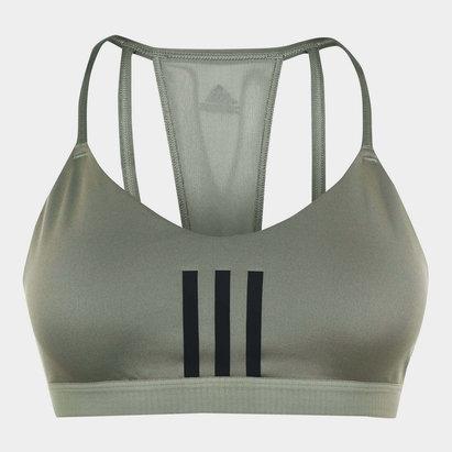 adidas 3 Stripe Mesh Bra Ladies