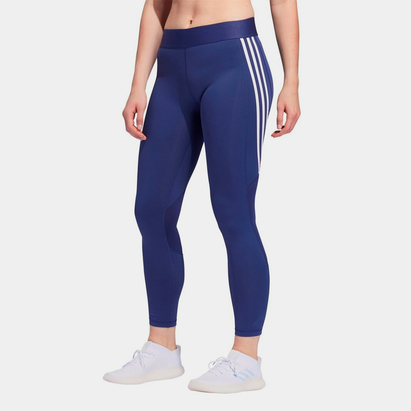 adidas Alphaskin 3 Stripe Tights Ladies