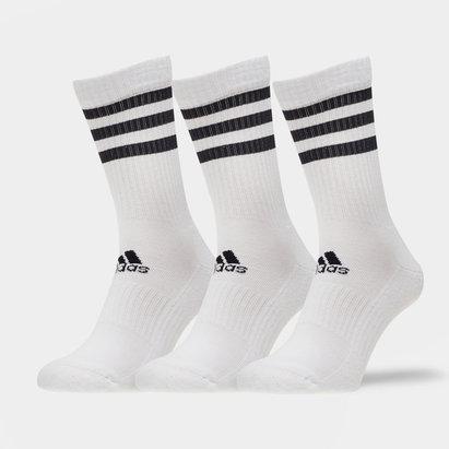 adidas adidas 3 Stripe Crew Socks