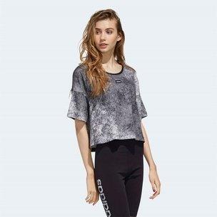 adidas AAA Crop T  Shirt Ladies