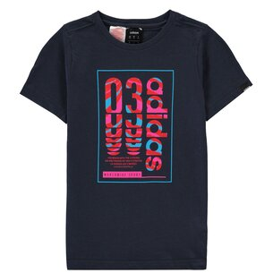 adidas Box 03 QT T Shirt Junior Boys