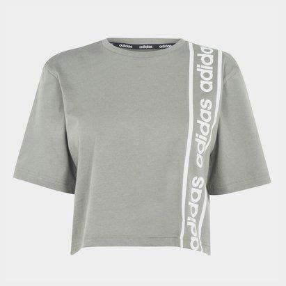 adidas C90 Crop T Shirt Womens