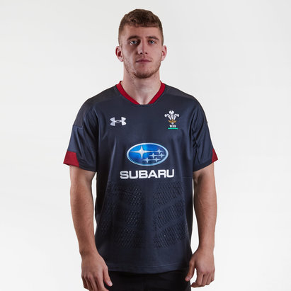 Under Armour Wales WRU 2018/19 Alternate S/S Replica Shirt