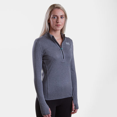 Canterbury Vapodri Ladies Poly 1/4 Zip Top