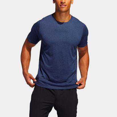 adidas Mens Freelift Sport X Heather T Shirt