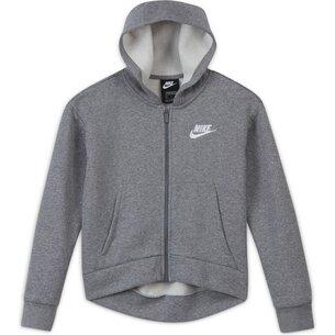 Nike Sportswear Full Zip Hoodie Junior Girls
