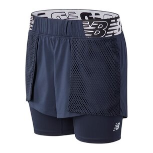New Balance Relentless 2in1 Shorts Ladies