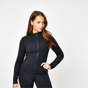 USA Pro X Courtney Black Fitted Sports Jacket