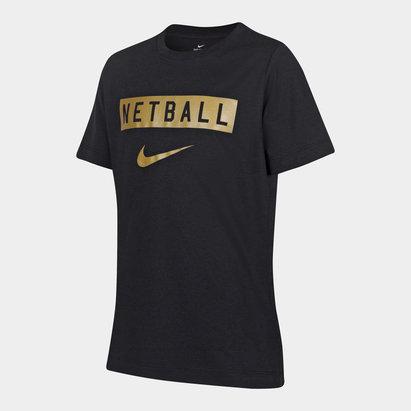 Nike England Netball Swoosh T-Shirt Ladies