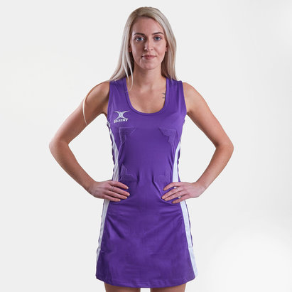 Gilbert Eclipse II Hook & Loop Netball Dress