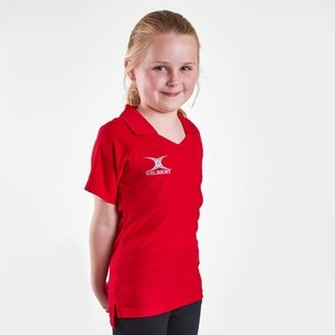 Gilbert Blaze Netball Shirt Childrens