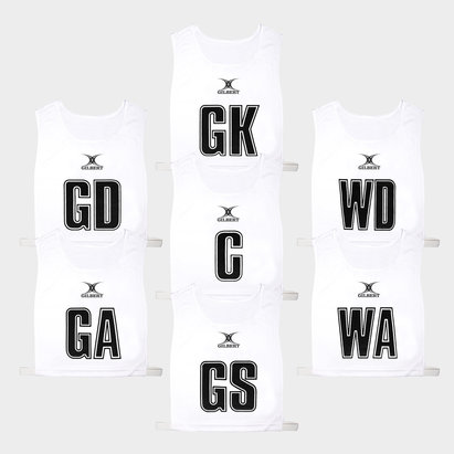 Gilbert Classic Netball Bibs Set of 7