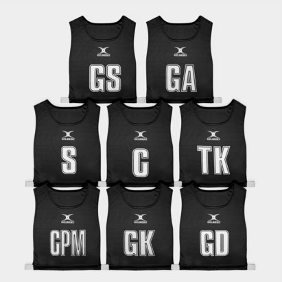 Gilbert High 5 Netball Bibs Set of 8