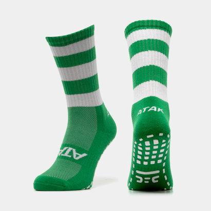 Atak Sports Shox Non Slip Mid Leg Hoop Grip Socks