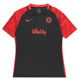 Nike England Netball Kids Pre Match T-Shirt