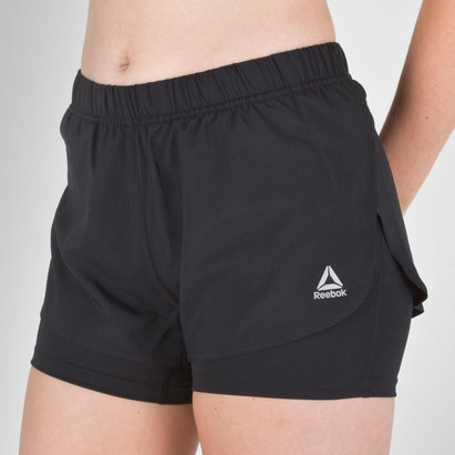 Reebok Speedwick 2 In 1 Ladies Training Shorts