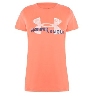 Under Armour UA Tech Ladies Graphic S/S Training T-Shirt