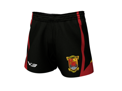 VX3 Carmarthen Quins RFC Replica Junior Playing Shorts