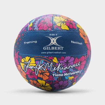 Gilbert Signature Tiana Metuarau Netball