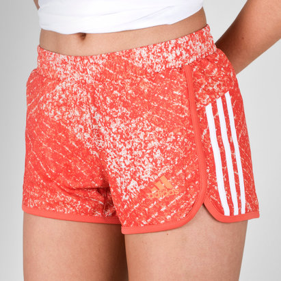 adidas D2M Ladies 3 Stripes Performance Shorts