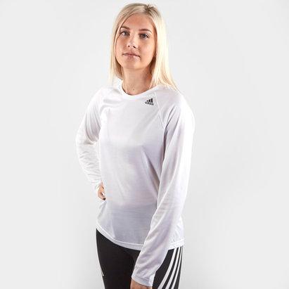 adidas D2M Ladies L/S Training T-Shirt