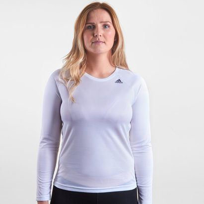 adidas D2M Ladies L/S Training T-Shirt