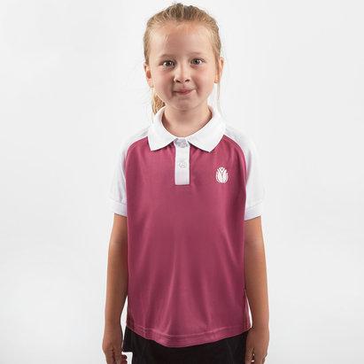 HeartNetball Girls Penelope Polo Shirt