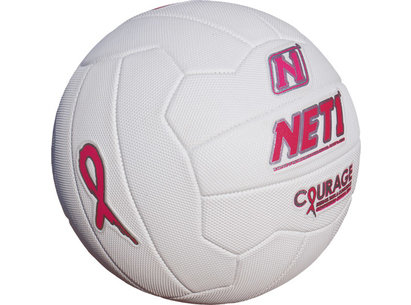 NET1 Pink Ribbon Courage Netball