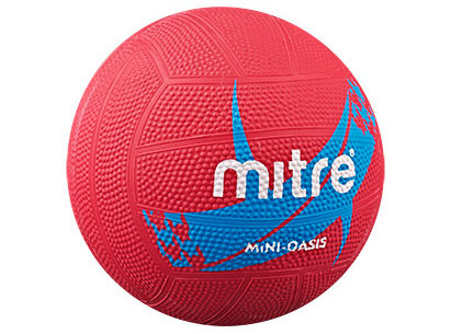 Mitre Oasis Moulded Netball - Mini Ball