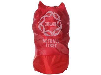 Netball First Mesh Ball Bag