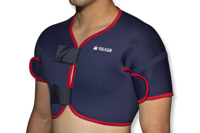 Vulkan Full Double Shoulder Neoprene Support