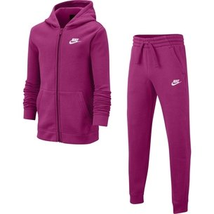 Nike Sportswear Fleece Tracksuit Junior Girls