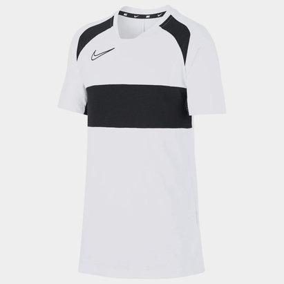 Nike Academy Short Sleeve Top Junior Boys