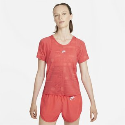 Nike Air Dri FIT Womens Short Sleeve Running Top