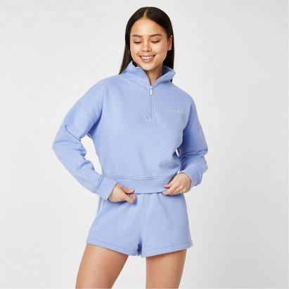 Jack Wills Active Funnel Neck Zip Up Sweatshirt