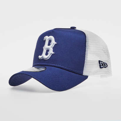 New Era MLB Boston Red Sox Team Essential Trucker Cap