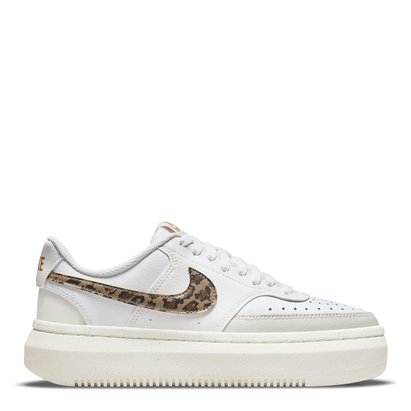 Nike Court Vision Alta Leather Womens Trainers