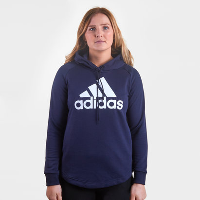adidas Ladies Logo Hooded Sweat
