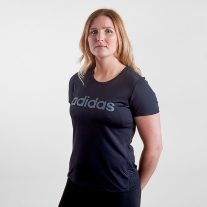 adidas D2M Logo Ladies T-Shirt