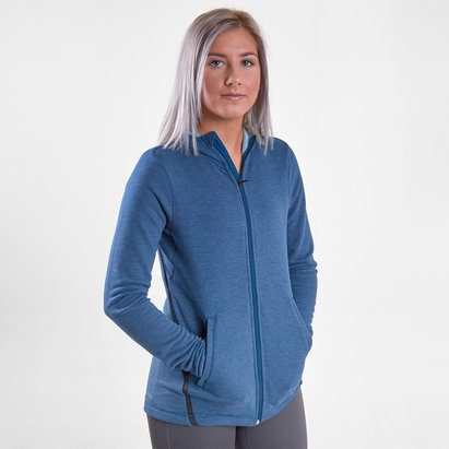 adidas Prime Ladies Full Zip Hooded Sweat