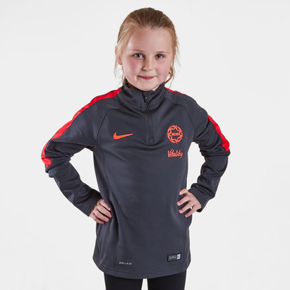 Nike England 2019 Kids Netball Mid Layer Training Top