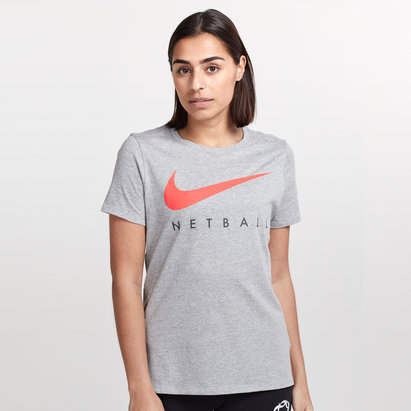 Nike England 2019 Ladies Netball Graphic T-Shirt