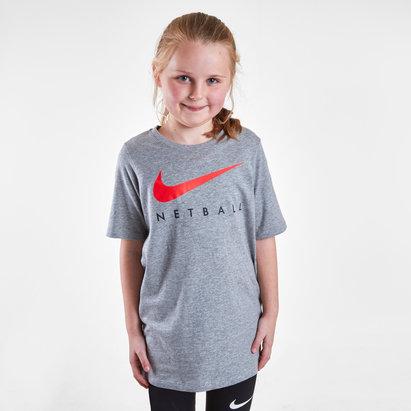 Nike England Netball Kids Swoosh T-Shirt