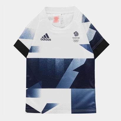 adidas Team GB Rugby Jersey Juniors