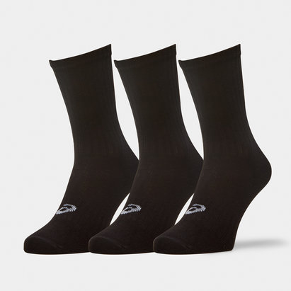 Asics 3 Pack Crew Training Socks