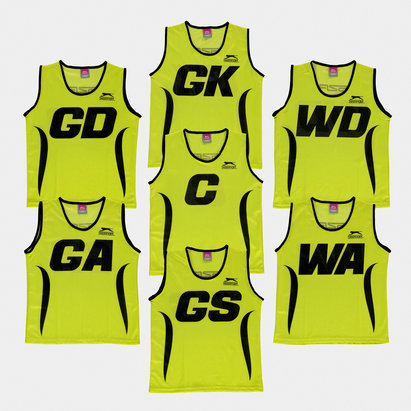 Slazenger Netball Training Bibs - Set of 7