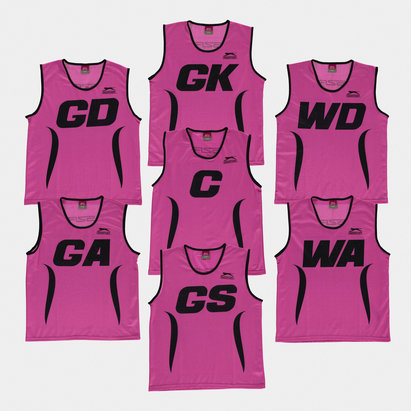 Slazenger Netball Kids Training Bibs - Set of 7